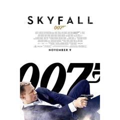 """""""Skyfall"""" Film Poster, 2012"""