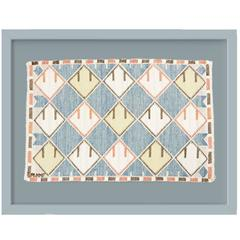 Swedish Wall Hanging Marta Maas-Fjetterstrom, AB Mmf, Tapestry Textile