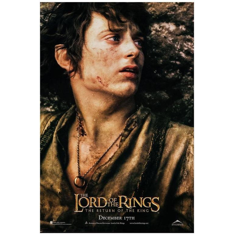 Lord Of The Rings The Return Of The King Poster 2003 For Sale At