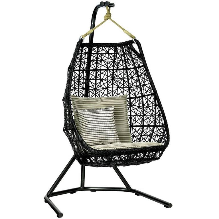Kettal maia egg swing for outdoors for sale at 1stdibs for Kettal maia chair