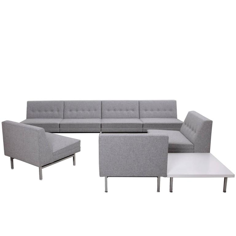 George Nelson Modular Sofa By Herman Miller, USA, 1963 Sectional For Sale