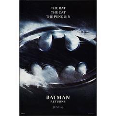 """Batman Returns"" Film Poster, 1992"