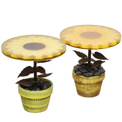Pair of Vintage Fun Side Tables