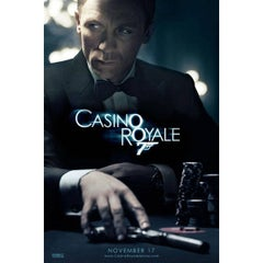 """Casino Royale"" Film Poster, 2006"