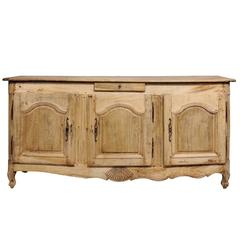 18th Century French Oak Enfilade with Bleached Finish