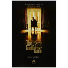 """""""The Godfather: Part III"""" Film Poster, 1990"""
