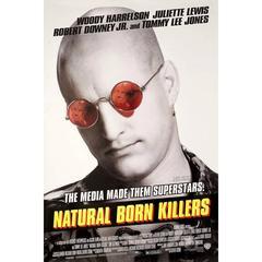 """""""Natural Born Killers"""" Film Poster, 1994"""