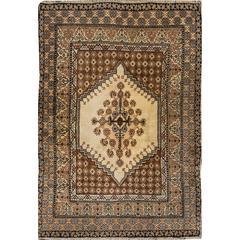 "Beautiful Vintage Moroccan Rug, 6' x 8'8"""
