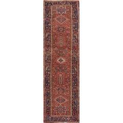 Beautiful Antique Persian Heriz Runner