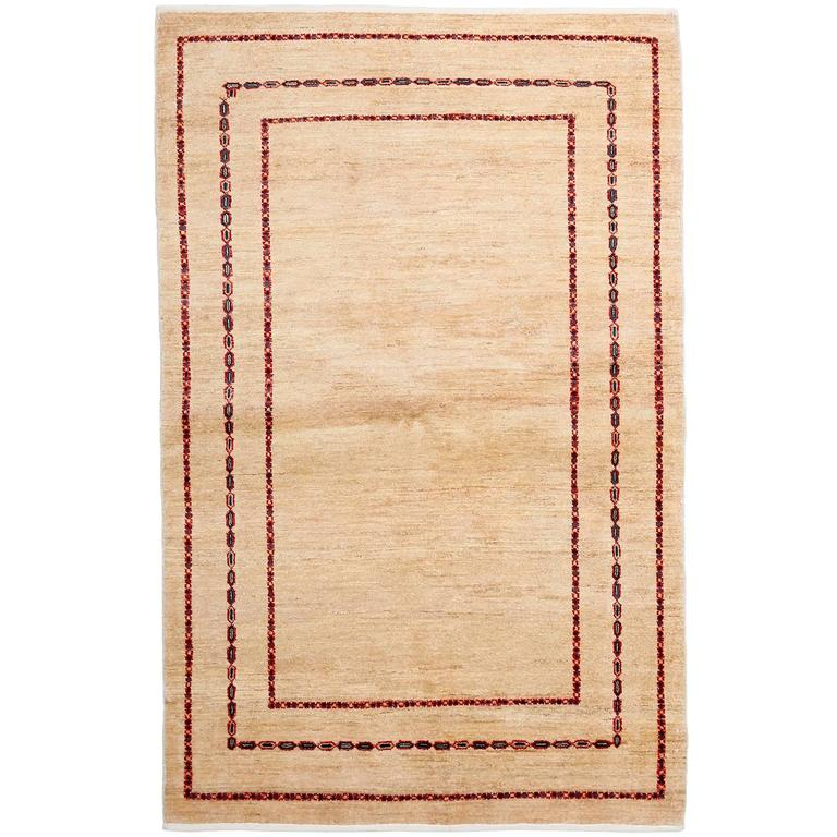 Beige modern area rug solo rugs for sale at 1stdibs for Modern area rugs for sale