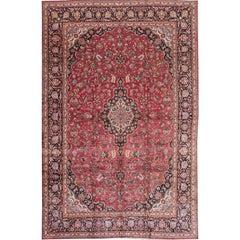 Beautifully Designed Vintage Kashan Rug