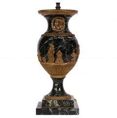 Heavy Urn Form Neoclassical Lamp