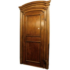 Antique Walnut Door
