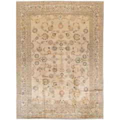 Fine Looking Antique Kashan Rug