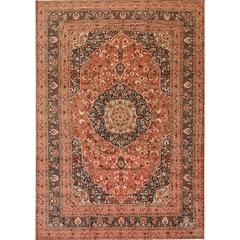Beautifully Designed Antique Tabriz Rug