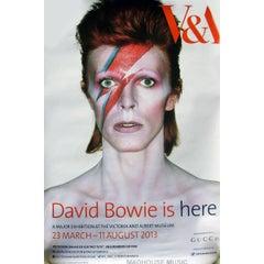 David Bowie VA Exhibition Poster, 2013