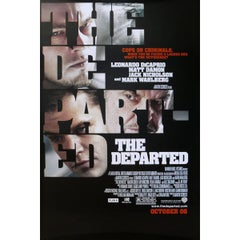 """""""The Departed"""" Film Poster, 2006"""