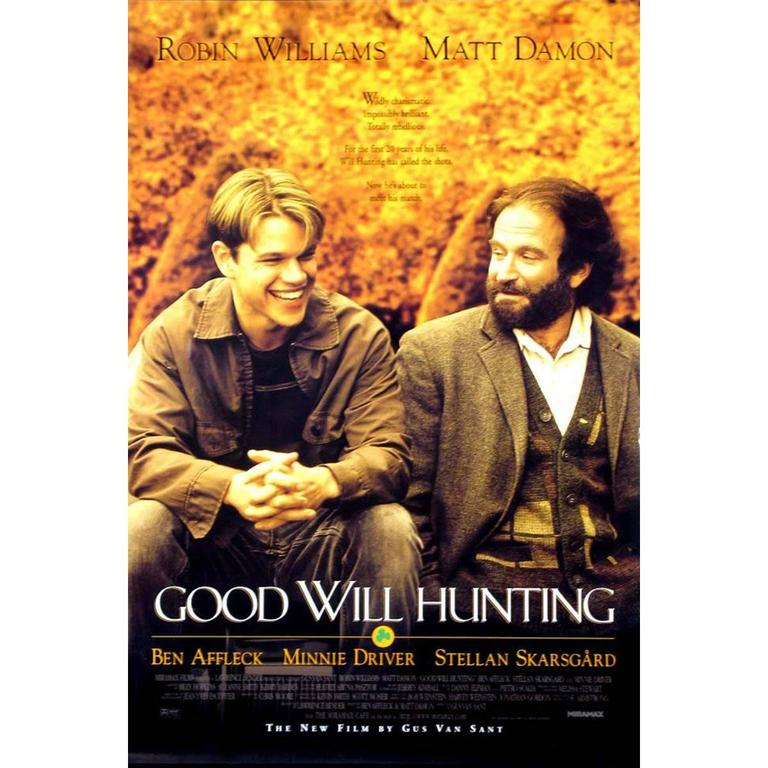 good will hunting diagnosis Watch video  directed by gus van sant with robin williams, matt damon, ben affleck, stellan skarsgård will hunting, a janitor at mit, has a gift for mathematics, but needs help from a psychologist to find direction in his life.