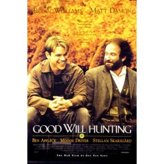 """""""Good Will Hunting"""" Film Poster, 1997"""