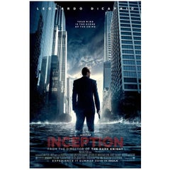 """""""Inception"""" Film Poster, 2010"""