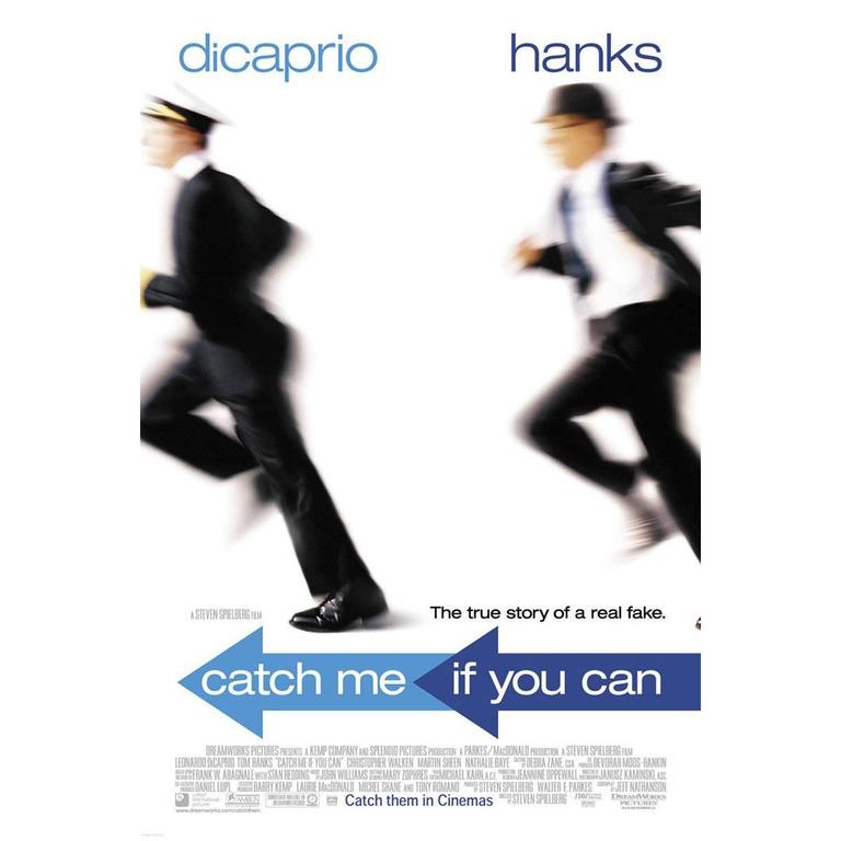 """Catch Me If You Can"" Film Poster, 2002"