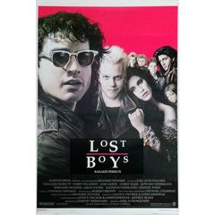 """The Lost Boys"" Film Poster, 1987"