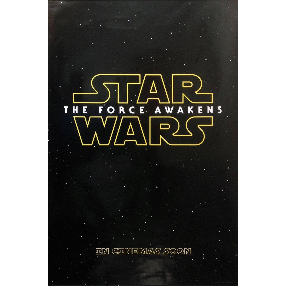 """Star Wars: The Force Awakens"", Film Poster, 2015"