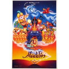 """Aladdin"" Film Poster, 1992"