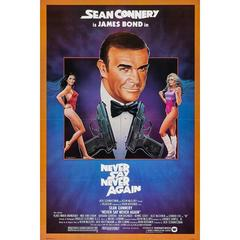 """Never Say Never Again"" Film Poster, 1983"