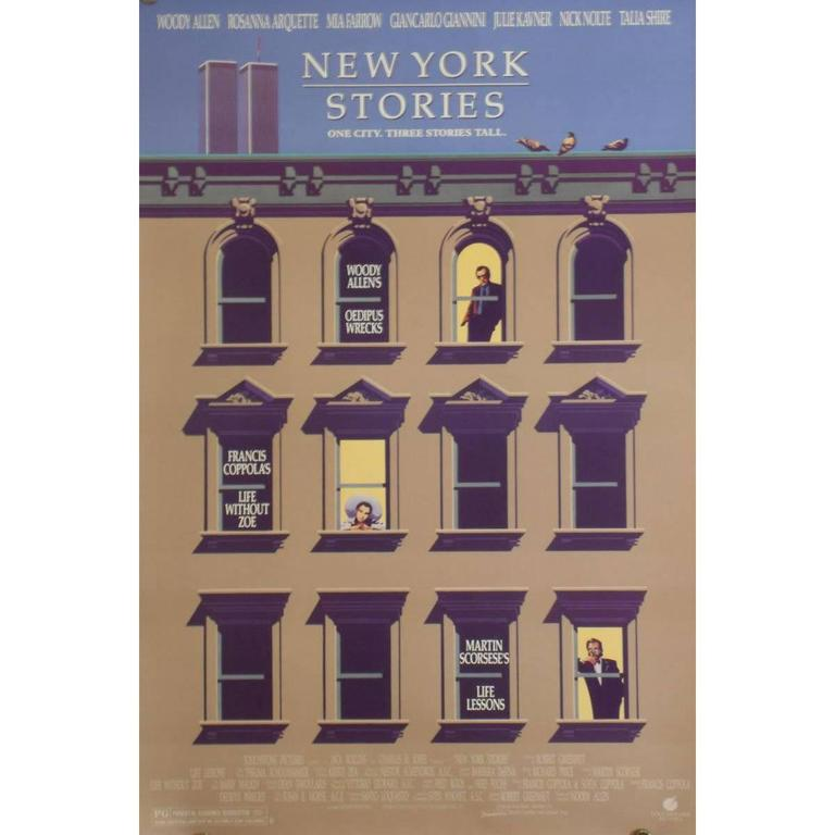 """New York Stories"" Film Poster, 1989"