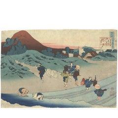 Katsushika Hokusai, Ukiyo-e, Japanese Woodblock Print, 19th Century, Landscape