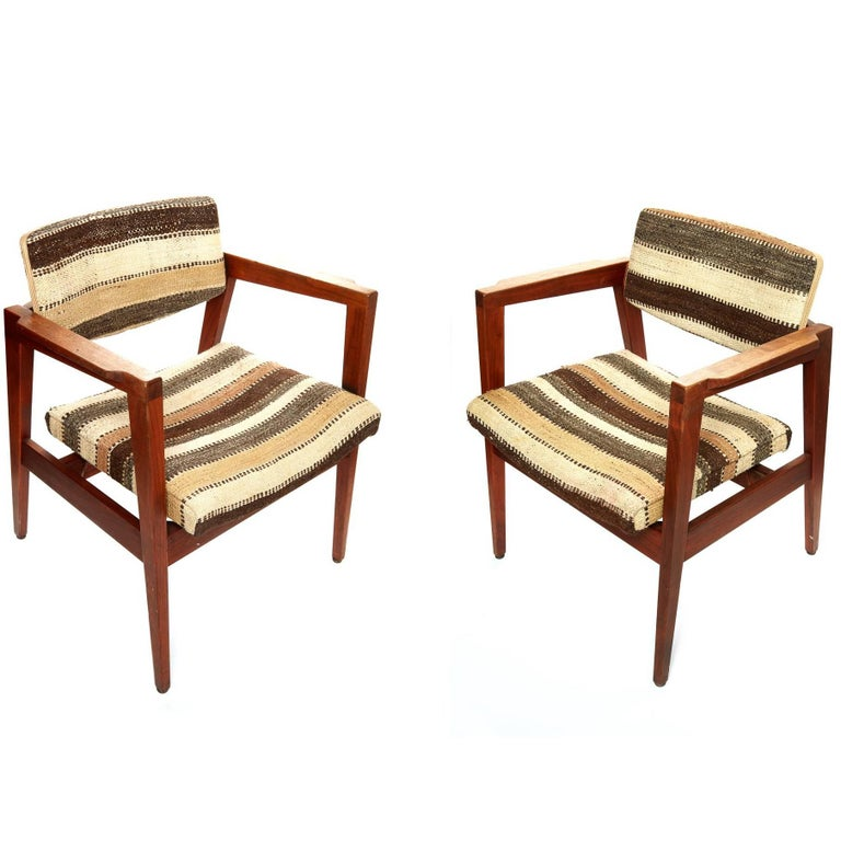 Pair of Mid-20th Century Danish Armchairs For Sale