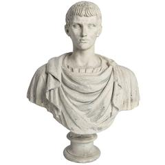 Neoclassical Roman Bust of a Patrician