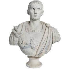 Neoclassical Bust of a Roman General