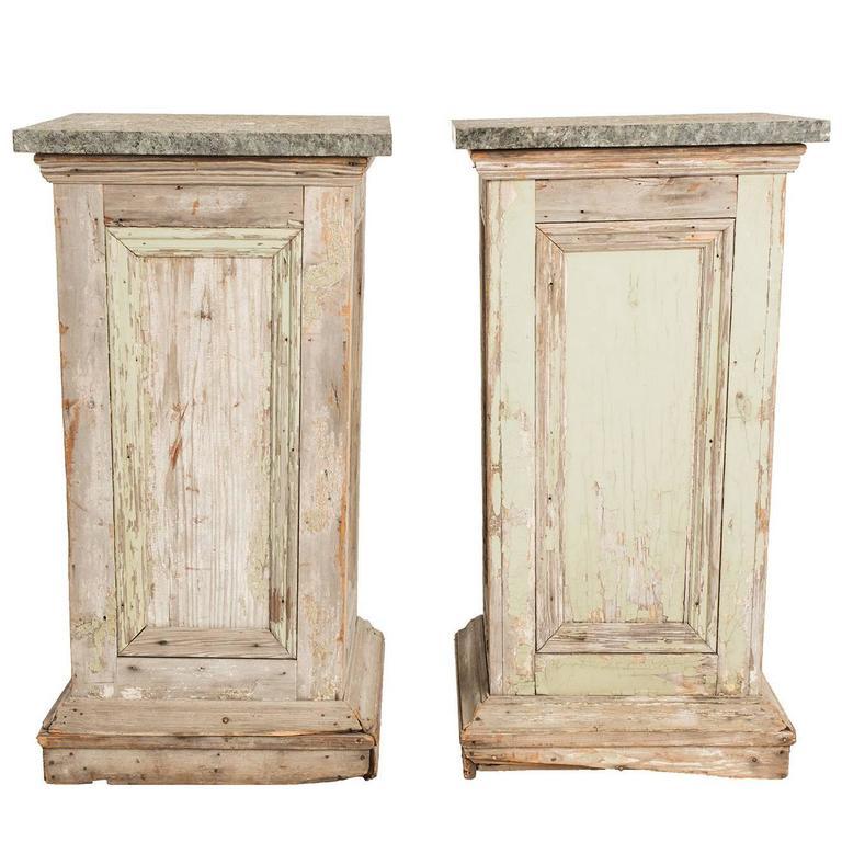 Granite Topped Pedestals For Sale