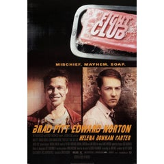 """""""Fight Club"""", Poster, 1999"""