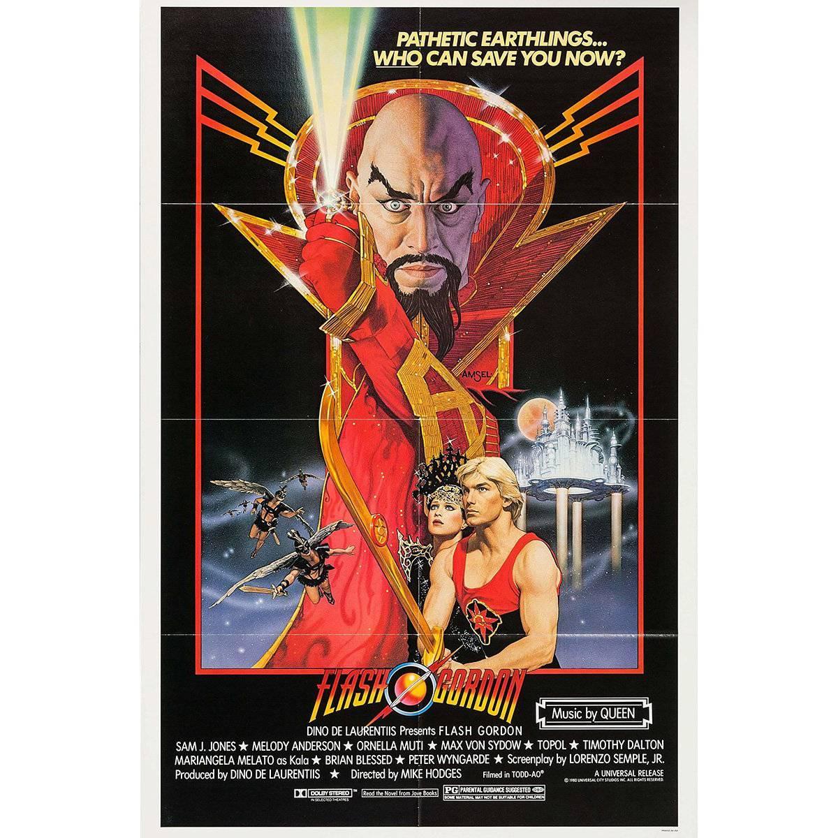 """Flash Gordon"" Film Poster, 1980"