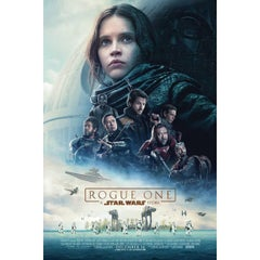 """""""Rogue One: A Star Wars Story"""" Film Poster, 2016"""
