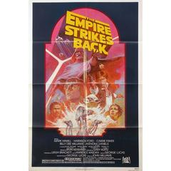 """The Empire Strikes Back"" Film Poster, 1982"