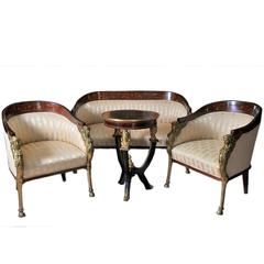 Awesome Set of Empire Revival Furniture, 1900s