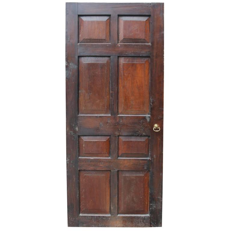 Set of Four 18th Century Oak Eight-Panel Doors
