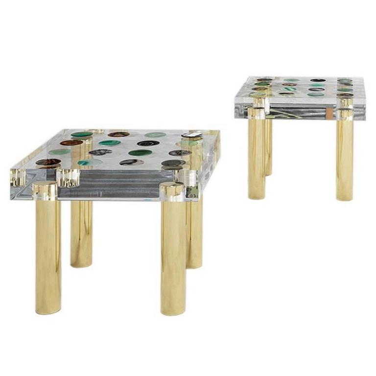 Pair of Tables Designed and Produced by Studio Superego