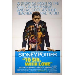 """""""To Sir, With Love"""" Film Poster, 1967"""