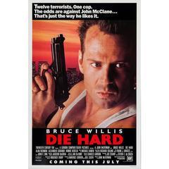 """""""Die Hard"""" Film Poster, 1988"""