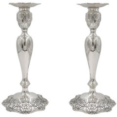 Black Starr and Frost Candlesticks