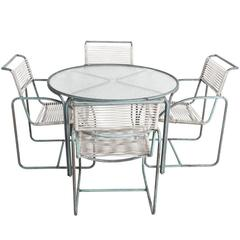 Walter Lamb Outdoor Table and Chairs