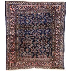 Antique Persian Lilihan Rug with Traditional Modern Style