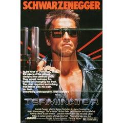 """The Terminator"" Film Poster, 1984"