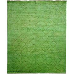Green Moroccan Area Rug, Solo Rugs