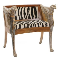 Pair of Eclectic Armchairs, 19th Century